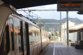 El SFM habilita trenes nocturnos entre Palma e Inca durante 9 fines de semana del verano