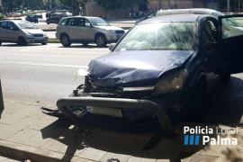 La Policía Local avisa de posibles retenciones en Vía Alemania tras un accidente