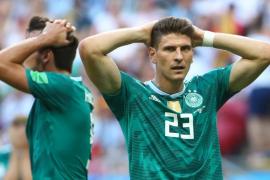 Alemania, fuera del Mundial