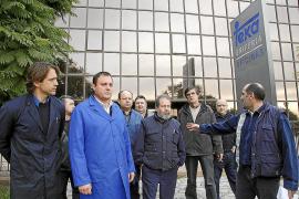 El Ajuntament de Binissalem se ofrece para mediar a favor de los trabajadores de Teka