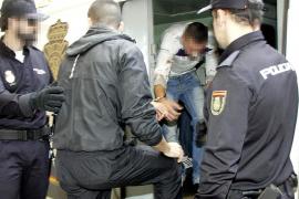 Cinco detenidos por agredir y secuestrar a un ladrón en Palma y disparar al aire
