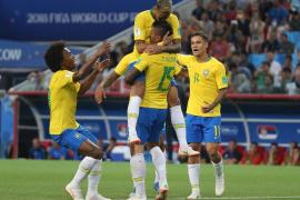 Brasil derrota a Serbia y jugará contra México