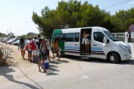 La lanzadera entre sa Ràpita y Es Trenc inicia su servicio este domingo