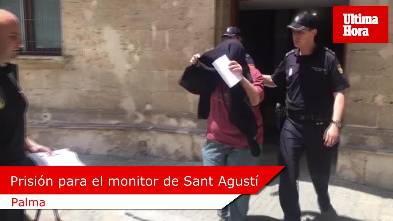 Prisión para el monitor de Sant Agustí acusado de abusos sexuales