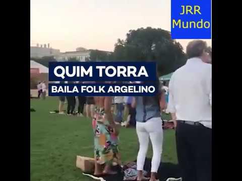 El baile folk del president Quim Torra