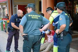 Un hombre, herido en el Port d'Andratx tras ser agredido con una botella