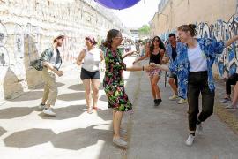 Fiesta en la antigua prisión de Palma