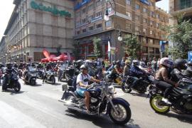 Unos 2.000 moteros se dan cita en la concentración Moto Rock Mallorca