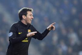 Otro triplete de Messi y el Barça pasa a octavos de final