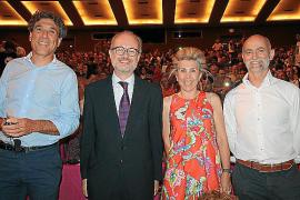 Carlos Ferrer, Martí Ribas, Maria Magdalena Frau y Javier Nausia.