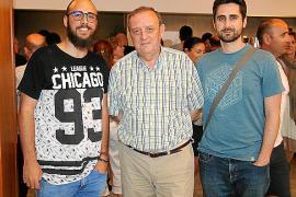 Sergi Rovira, Pedro y Biel Castell.