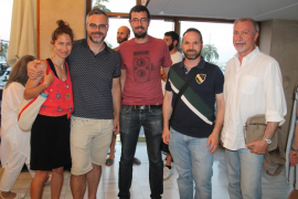 Ana García, Jaime Sánchez, Patrick Martínez, Domingo García y Pedro Giménez.