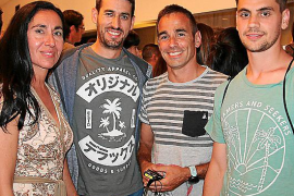 Ana del Valle, Alejandro García, David Abeledo y Toni Parra.