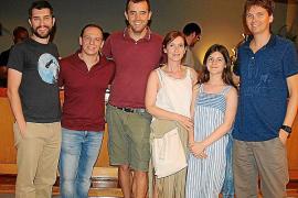Iker Cortabarria, Gabriel Martínez, Miguel Angel Nieto, Catín Estarellas, Blanca Gómez y David Esteban.