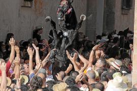 Condena a Ciutadella por un caballo que arrolló a una mujer en Sant Joan