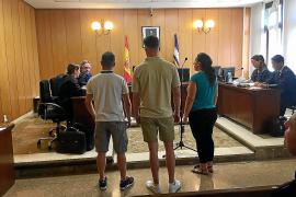 Dos hombres condenados por atracar un súper a punta de pistola en Palma
