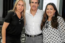 Belén Puerto, Javier Iriondo y Soledad Bescós.