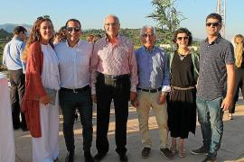 Maria Company, Javier Irazusta, Tomeu Rotger, Miquel Fullana, Marta Maimó y Xisco Planas.