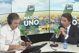 Aznar avisa de que si el PP no se refunda dejará de ser opción de gobierno