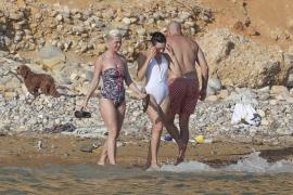 Katy Perry recarga pilas en Ibiza