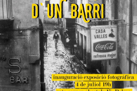 Canamunt recupera la exposición 'Memòries d'un barri', que se podrá ver en Rata Corner