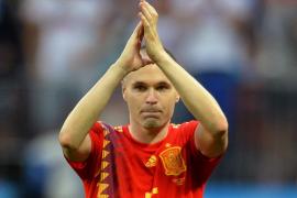 La emotiva carta de despedida de la selección española de Andrés Iniesta