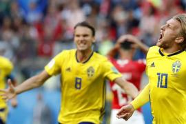 Fosberg mete a Suecia en cuartos de final