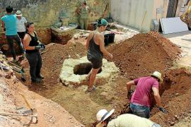 Aparecen en Alaró varias estructuras desconocidas, pero no los restos de las dos víctimas