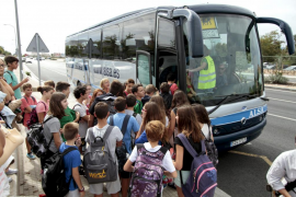 Los ciudadanos de Baleares podrán usar los buses de transporte escolar para desplazarse