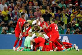 Inglaterra en cuartos de final tras eliminar a Colombia en los penaltis