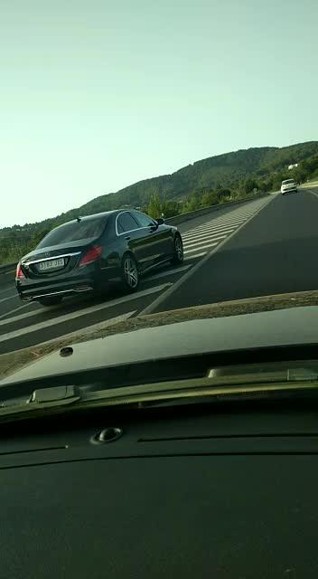Conducción temeraria por la carretera de Sant Josep