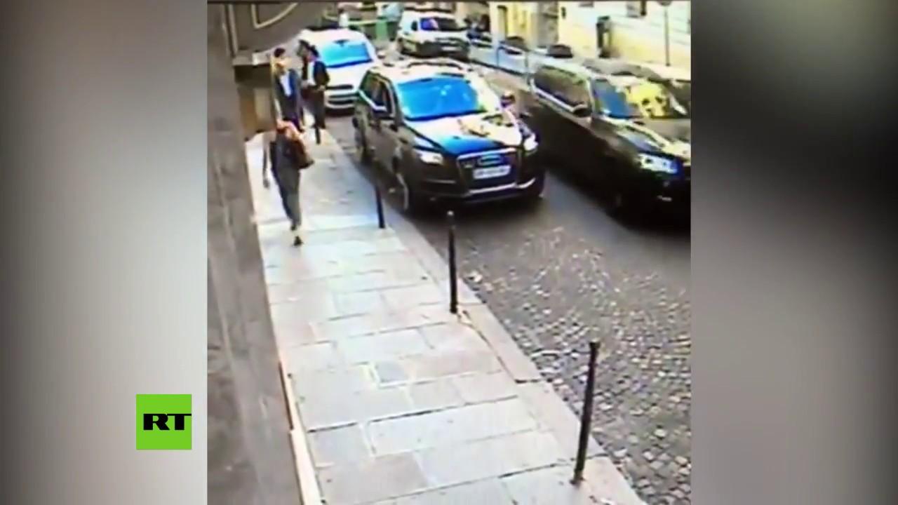 Roban el coche oficial de un agregado israelí ante las narices del chófer y un guardaespaldas