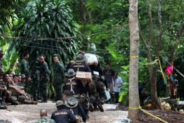El descenso de las inundaciones da esperanza al rescate de los niños atrapados en Tailandia