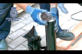 Intervienen 40 kilos de cocaína destinados a Eivissa en un polígono de Madrid