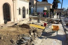 El entierro de una vecina de Porreres retrasa la exhumación de la fosa de la Guerra Civil