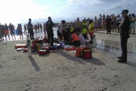 Muere un turista en la Playa de Palma