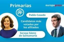 Casado y Santamaría pasan a la segunda vuelta del congreso del PP