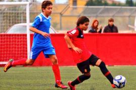 El mallorquinista Luka Romero, convocado con la selección sub-15 de Argentina