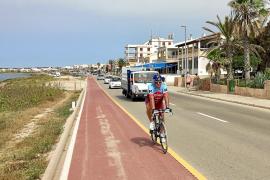 El Consell de Mallorca y el Ajuntament de Campos extremarán la seguridad de la carretera litoral de sa Ràpita