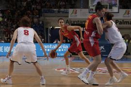 España gana en Son Moix a Japón con una canasta sobre la bocina