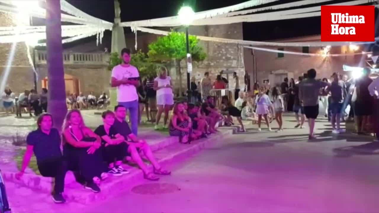 Biniali celebra su verbena con medidas para evitar los excesos