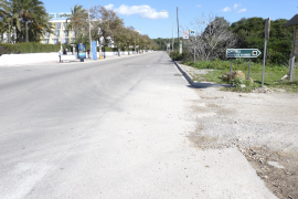 Un carril bici comunicará las playas de sa Coma y Cala Millor