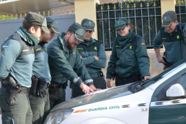 Más de 400 aspirantes de Baleares se examinan para ser guardia civil