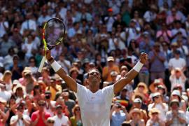 Nadal arrasa a De Miñaur en Wimbledon