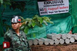 Operación rescate de los niños atrapados en una cueva de Tailandia