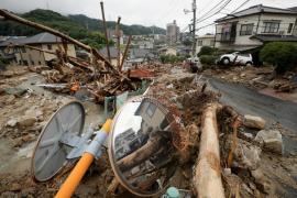 Las lluvias torrenciales dejan 126 muertos y 60 desaparecidos en Japón