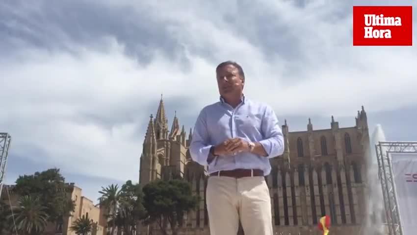Mesquida en un acto de Ciudadanos: «Soy un patriota»