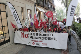 El Ayuntamiento de Palma pide al juez que finalice el contencioso de la carrera profesional