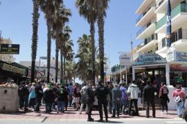 Agreden a cuatro policías locales de Palma en menos de tres días en s'Arenal