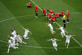 Los jugadores rusos esnifaron amoniaco para mejorar su rendimiento frente a España, según 'Bild'